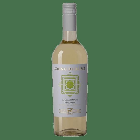 Sogno Di Ulisse Chardonnay Malvasia Vinho Branco Italiano 750ml