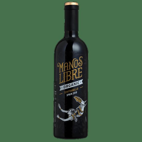 Manos Libre Organic Tempranillo Spain Vinho Tinto Espanhol 750ml