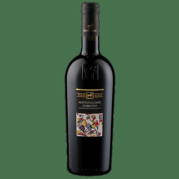 Tenuta Ulisse Montepulciano D Abruzzo DOP Vinho Tinto Italiano 750ml